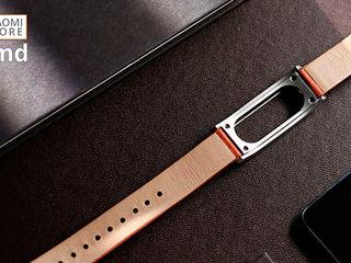Ваш уникальный стиль с кожаным ремешком Xiaomi Mi Band 2 MiJobs!