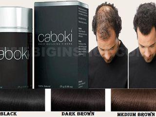 Средство для ухода за волосами Caboki. Preparate pentru Caboki de îngrijire a părului.