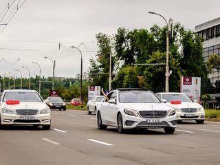 Mercedes S-class alb/negru pentru Nunta ta!!! 109€/zi