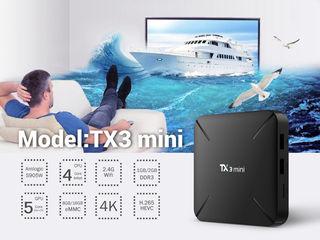 Tanix TX3 MINI H Amlogic S905W 2GB RAM 16GB ROM Android 7.1 - SmartTV на вашем ТВ