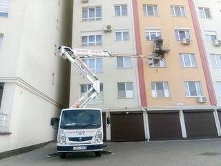 Autoturn 28m etajul 9 автовышка вышка visca viska24. кран cran Manipuleator Lift