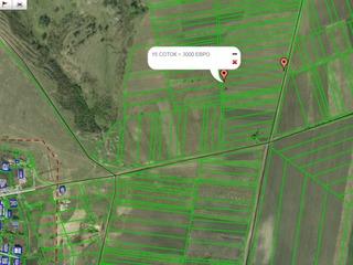 Bubuieci. Бубуечь 3 км от Кишинёва  15 соток огород = 2250 евро = 200 метров от села Срочно