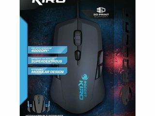 Roccat Kiro / Modular Ambidextrous Gaming Mouse