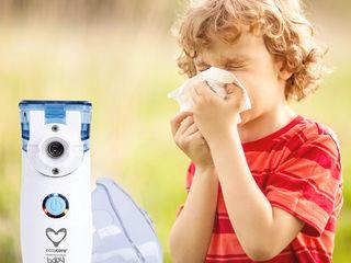 Inhalator nebulizator Mesh-tehnologie ultrasunet Mesh-небулайзер электронно-сетчатый ингалятор