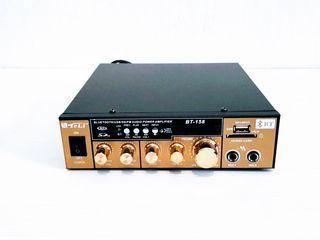 Amplificator sunet. Auto(12V) + priză(220V). Bluetooth+FM+USB+SD/MMC+Karaoke. Nou. 690 lei