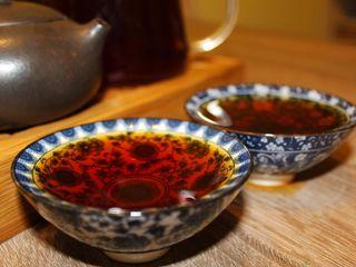China pure tea