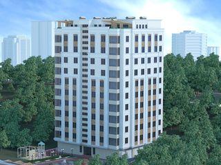 Ap. cu  2 camere, 50,18 m2, Prima rată 30%, în bloc nou! etaj 3 din 9!!! sectorul Centru!!!