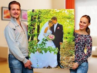 Imprimarea fotografiilor pe hârtie foto și pânză Печать фотографий на фотобумаге и холсте