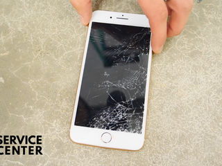 Iphone 8/8+   sticla sparta -luăm, reparăm, aducem !!!
