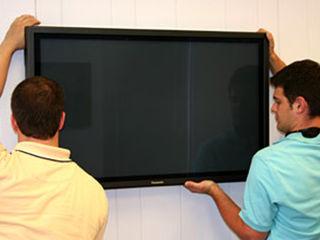 Навеска установка телевизоров Lsd led plazma любых размеров на любые поверхности