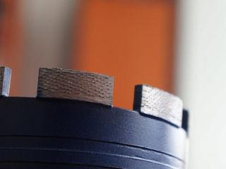 Восстановление алмазной коронки ARIX напайкой сегментов