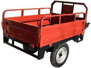 Прицеп 4 для мотоблока, красный/c доставкой на дом бесплатно/Garantie/ Livrare/5800