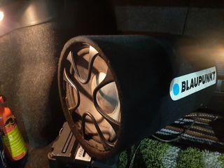 Буфер Blaupunct + усилитель Kenwood +новые провода 110 евро