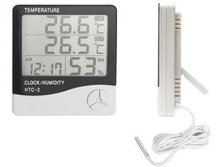 Термометр, гигрометр, часы, метеостанция