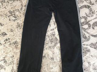 Спортивные штаны оригинальные чёрные, фирменные Oviesse, натуральные, в хорошем состоянии, размер, L