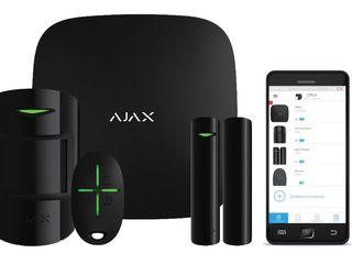 Беспроводная сигнализация ajax. управление с мобильного телефона.