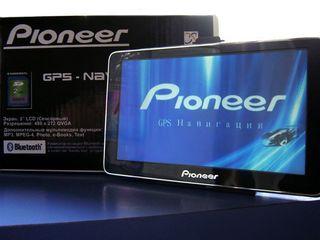 Новый gps Pioneer, подробные карты, гарантия от 999лей