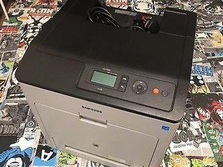 цветной лазерный принтер Samsung CLP-775ND . двусторонняя печать в идеальном состоянии