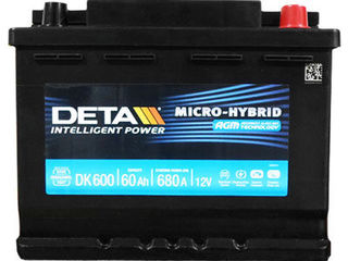Baterie - Deta
