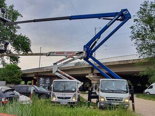 Autoturn 18m 20m 22m 27m 28m in автовышка вышка visca кран cran acoperis lift chisinau