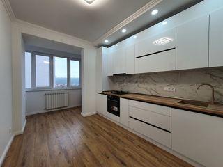 Apartament cu 2 camere+living! Euro reparație, str. Buzdugan, ExFactor!