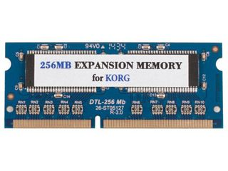 Sample-RAM Korg EXB 256MB-nou.