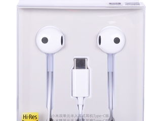 Casti Xiaomi Mi Dual Driver Earphones Type-C, White