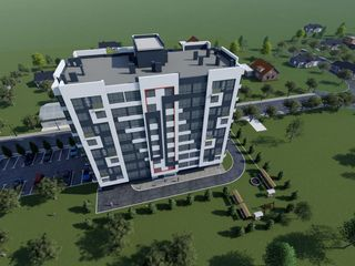 Vinzare 66,50mp. bloc nou centrul moldovei de la sv lux grup!!!