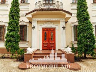 Centru! casă de lux cu 2 nivele în stil clasic, 480 mp!