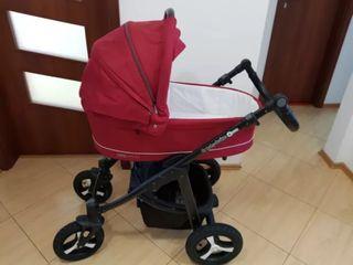 Люлька и кресло новые! 3в 1 baby  design lupo comfort. состояние 10/10.куплена на заказ за 11000.