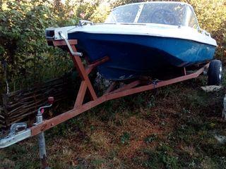 Продам лодку Обь 3 с мотором Mercury 30