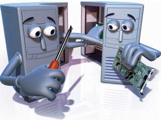 Чистка и ремонт ноутбуков и компьютеров