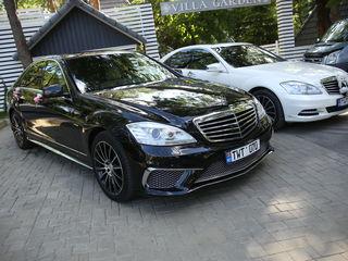 Mercedes-benz S 2014 AMG, chirie auto nunta, kortej, авто для свадьбы