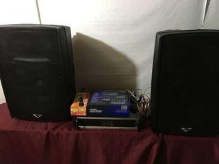 Aparatura 2400 W, amplificator,  boxe, cabluri, 8000 lei !!!