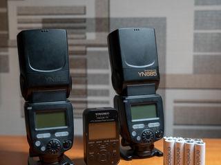 Vînd 2x Yongnuo YN685 și Yongnuo YN-622 Nikon