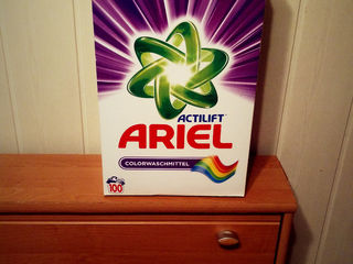 Ariel praf universal ,color , Germania !!!