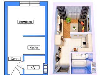 Миниатюрная квартира в новострое!