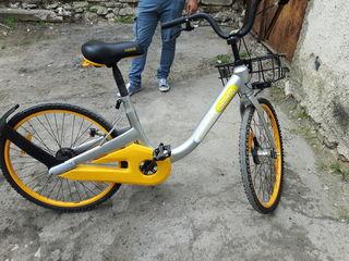 Новый велосипед из Швейцарии.
