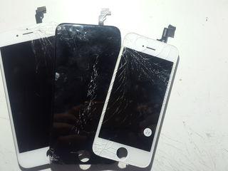 Lcd Iphone 6s 6+ 6 5s 5c 5 4s 4. Замена стекла.