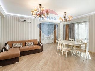Chirie apartament cu elemente din stilul modern și neoclasic
