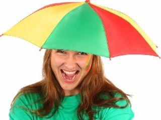 Шапка-зонтик!
