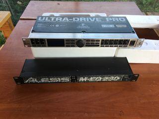 Audio equalizer,Procesor, Ultradrive pro dcx2498 digital 24-bit/96 khz loudspeaker management system