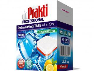 Таблетки для Автоматических Посудомоечных Машин- Prakti 105шт.