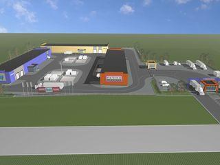 Chirie - spațiu pe teritoriul pieței - baze de materiale de construcție