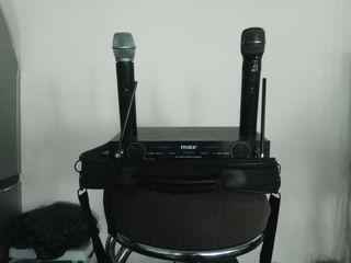 Микрофоны --Max X966 беспроводные