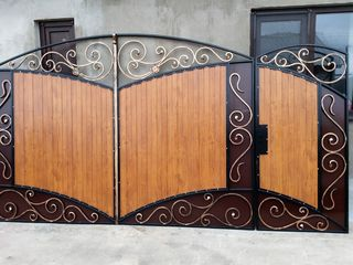 se vinde poarta cu portita
