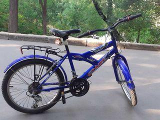 Bicicleta cu roți la douazeci