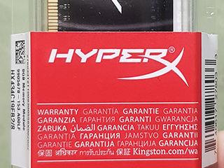 Новая DDR4 Kingston HyperX FURY на 3466 мгц