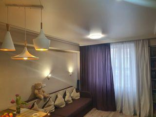 Apartament cu 1 camera cu un design individual, 32 m.p.,Telecentru