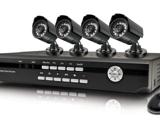 От 125$! Установка IP камер видеонаблюдения в Молдове